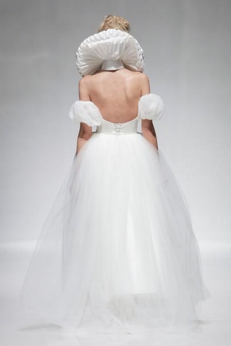 Back of Orlando Wedding Dress - Alan Hannah Floral Symphony 2015 Bridal Collection