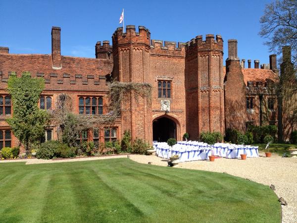 Outdoor Ceremony at Leez Priory