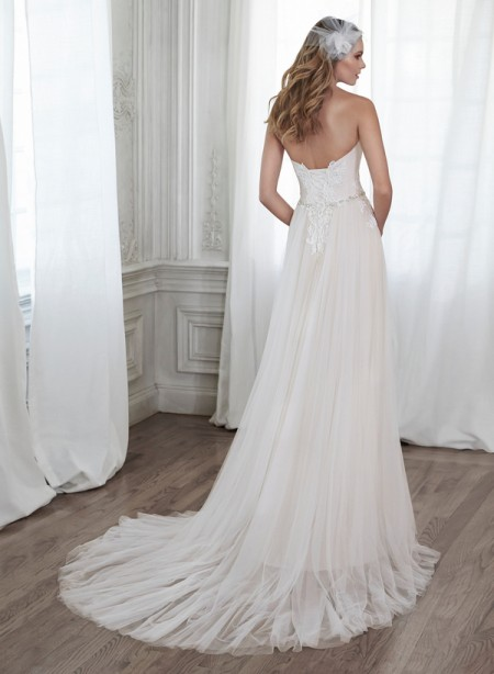 Back of Patience Wedding Dress - Maggie Sottero Spring 2015 Bridal Collection