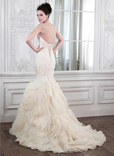 Back of Paulina Wedding Dress - Maggie Sottero Spring 2015 Bridal Collection