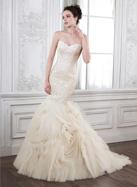 Paulina Wedding Dress - Maggie Sottero Spring 2015 Bridal Collection