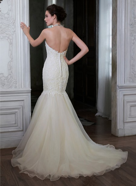 Back of Paulina Marie Wedding Dress - Maggie Sottero Spring 2015 Bridal Collection
