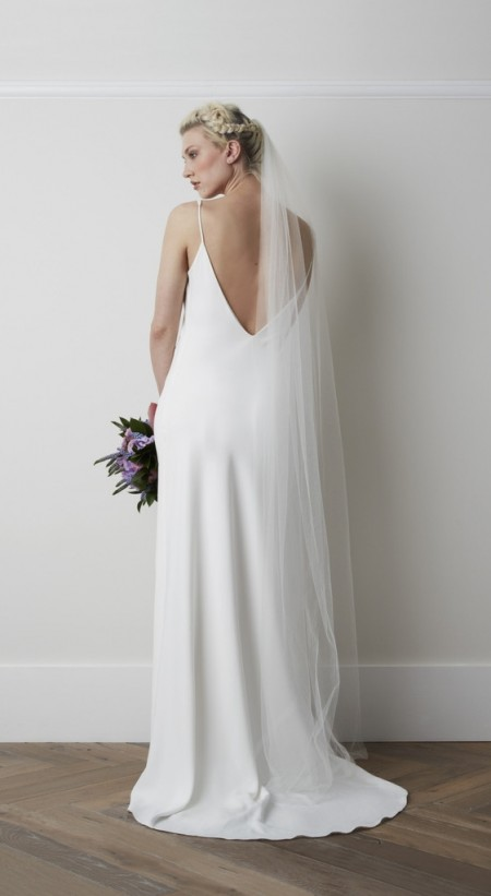 Back of Payton Wedding Dress - Charlie Brear 2015 Bridal Collection
