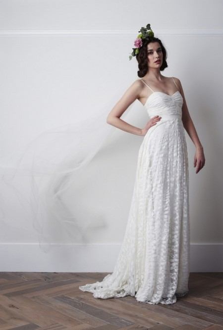 Pelerine Wedding Dress - Charlie Brear 2015 Bridal Collection