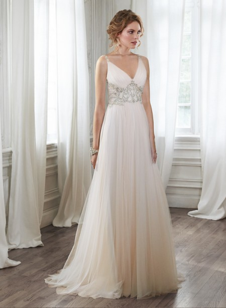 Phyllis Wedding Dress - Maggie Sottero Spring 2015 Bridal Collection