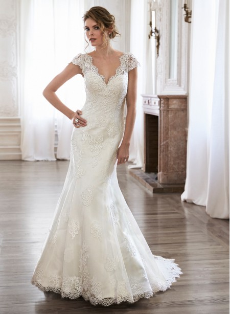 Pilar Wedding Dress - Maggie Sottero Spring 2015 Bridal Collection