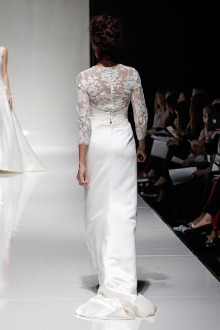 Back of Prudence Wedding Dress - Alan Hannah Floral Symphony 2015 Bridal Collection