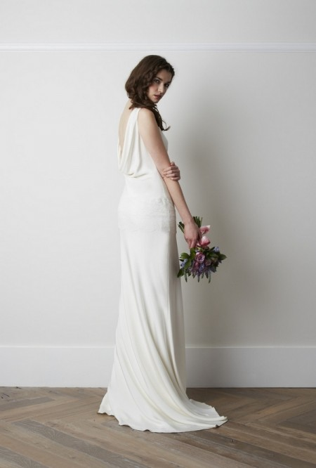 Back of Sada Chantilly Wedding Dress - Charlie Brear 2015 Bridal Collection