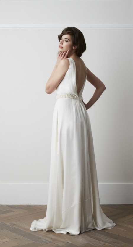 Back of Safna Wedding Dress - Charlie Brear 2015 Bridal Collection