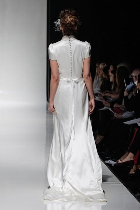 Back of Sahara Wedding Dress - Alan Hannah Floral Symphony 2015 Bridal Collection