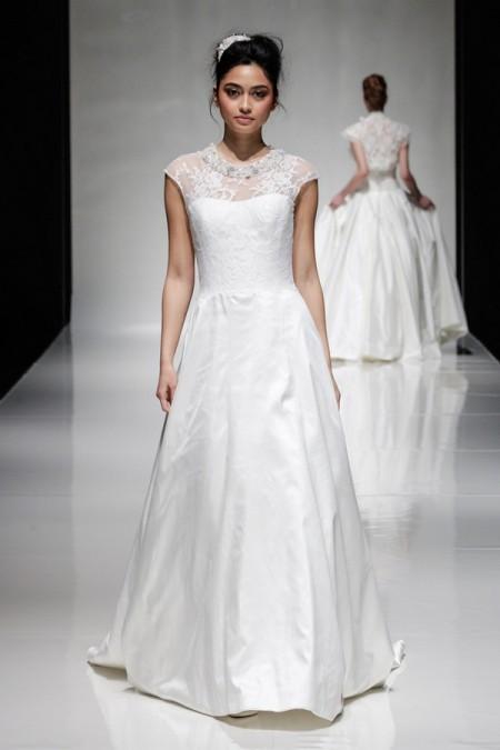 Sandalwood Wedding Dress - Alan Hannah Floral Symphony 2015 Bridal Collection