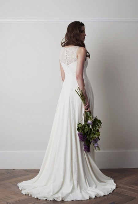 Back of Sasson Wedding Dress - Charlie Brear 2015 Bridal Collection