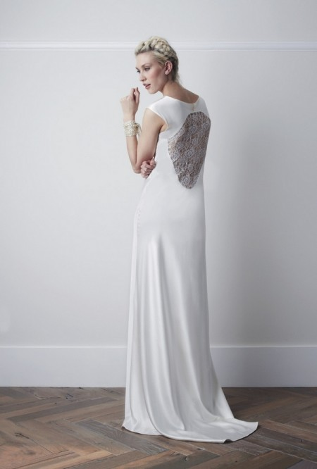 Back of Savona Wedding Dress - Charlie Brear 2015 Bridal Collection
