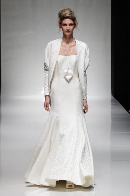 Selena Wedding Dress with Selena Jacket - Alan Hannah Floral Symphony 2015 Bridal Collection