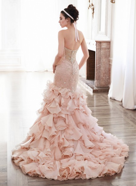 Back of Serencia Wedding Dress - Maggie Sottero Spring 2015 Bridal Collection