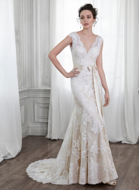 Shayla Wedding Dress - Maggie Sottero Spring 2015 Bridal Collection