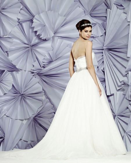 Back of Sofia Wedding Dress - Heritage Balbier-Wyatt 2015 Bridal Collection