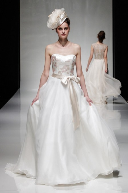 Summer Wedding Dress - Alan Hannah Floral Symphony 2015 Bridal Collection