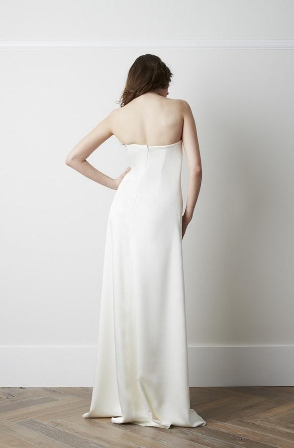 Back of Tavaline Wedding Dress - Charlie Brear 2015 Bridal Collection