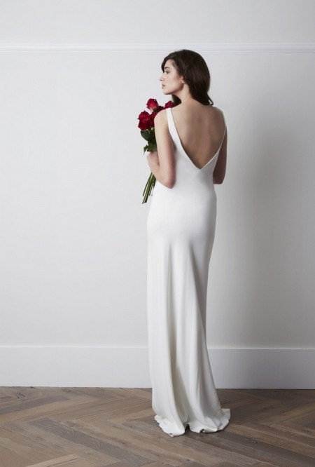 Back of Torum Wedding Dress - Charlie Brear 2015 Bridal Collection