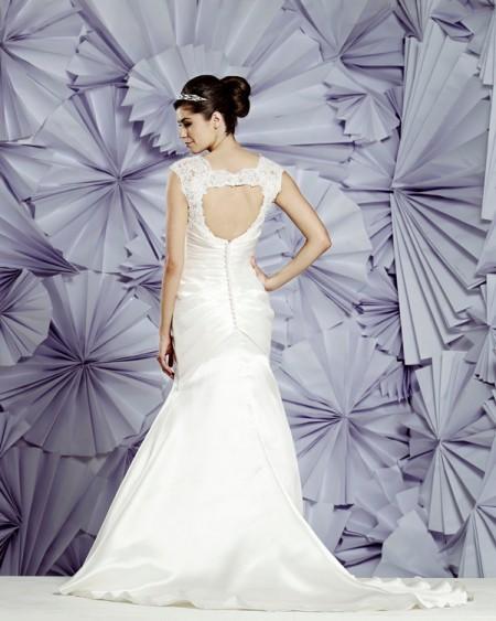Back of Valencia Wedding Dress - Heritage Balbier-Wyatt 2015 Bridal Collection
