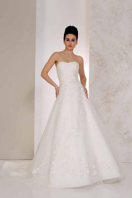 Valencia Wedding Dress - Karen George for Benjamin Roberts 2015 Bridal Collection
