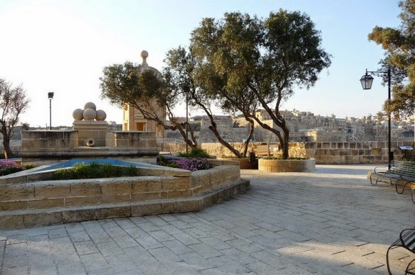 Valletta Harbour View Gardens Available for Weddings in Malta
