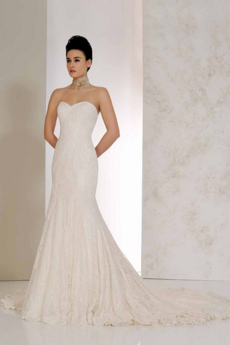 Vanilla Wedding Dress - Karen George for Benjamin Roberts 2015 Bridal Collection
