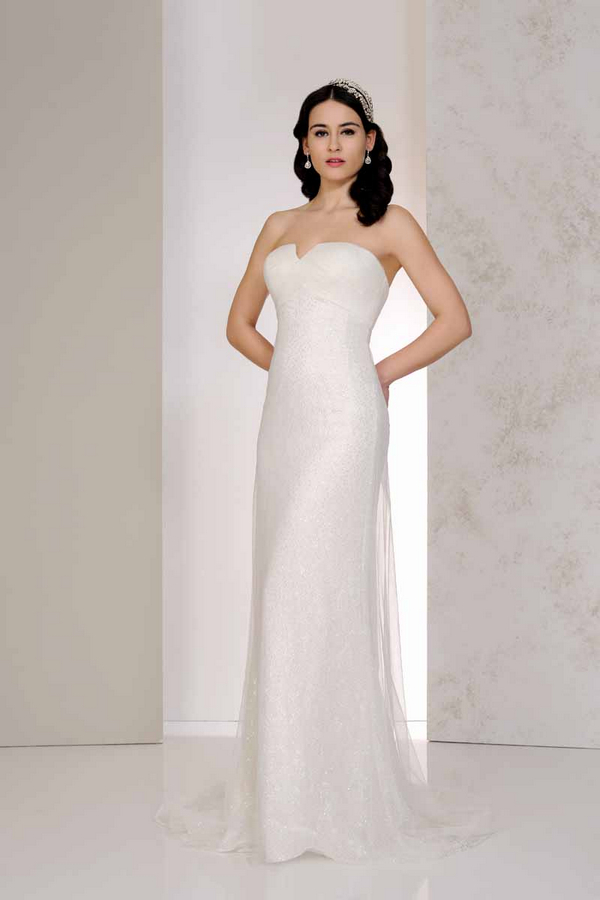 Vanity Wedding Dress - Karen George for Benjamin Roberts 2015 Bridal Collection