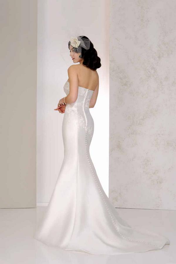 Back of Vanya Wedding Dress - Karen George for Benjamin Roberts 2015 Bridal Collection