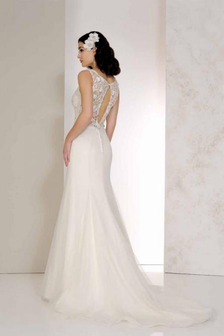 Back of Varri Wedding Dress - Karen George for Benjamin Roberts 2015 Bridal Collection