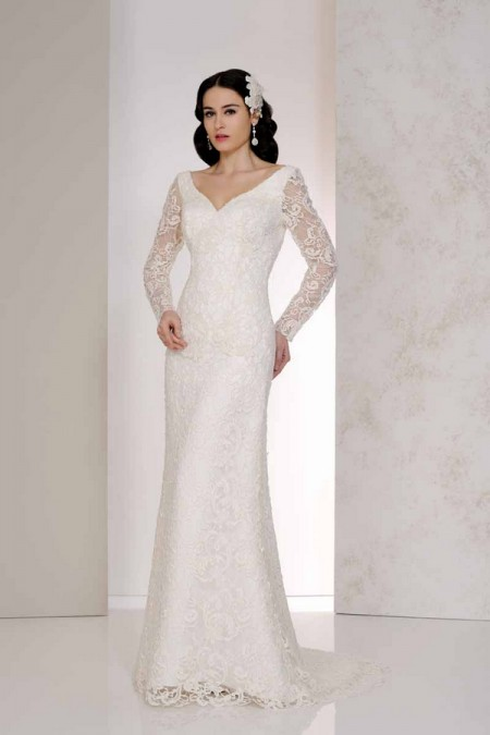 Velora Wedding Dress - Karen George for Benjamin Roberts 2015 Bridal Collection