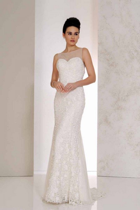 Venice Wedding Dress - Karen George for Benjamin Roberts 2015 Bridal Collection