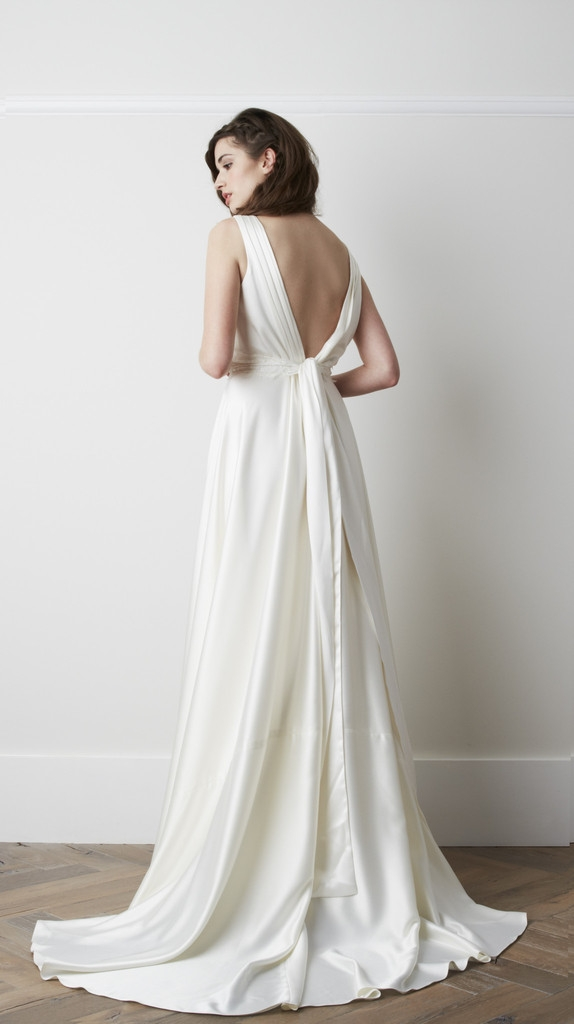 Back of Ventoux Wedding Dress - Charlie Brear 2015 Bridal Collection