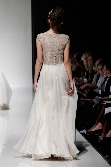 Back of Venus Wedding Dress - Alan Hannah Floral Symphony 2015 Bridal Collection