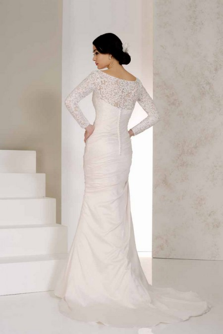 Back of Venus Wedding Dress - Karen George for Benjamin Roberts 2015 Bridal Collection