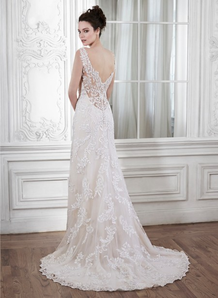 Back of Verina Marie Wedding Dress - Maggie Sottero Spring 2015 Bridal Collection