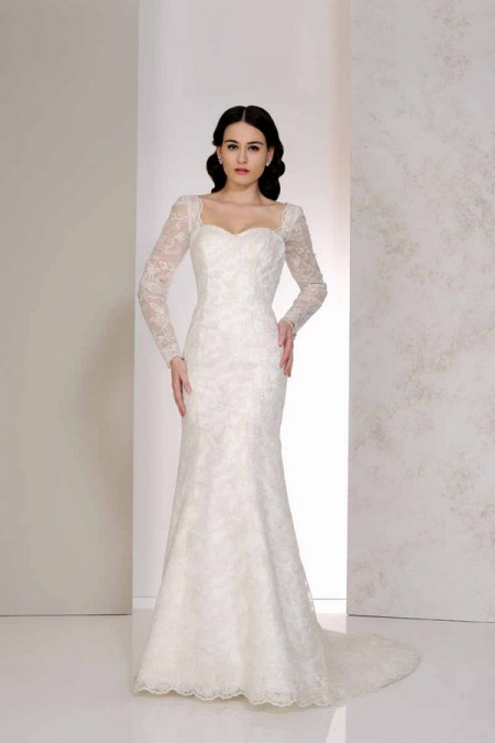 Veronica Wedding Dress - Karen George for Benjamin Roberts 2015 Bridal Collection