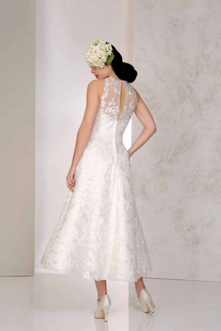 Back of Vicky Wedding Dress - Karen George for Benjamin Roberts 2015 Bridal Collection
