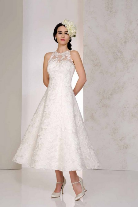 Vicky Wedding Dress - Karen George for Benjamin Roberts 2015 Bridal Collection