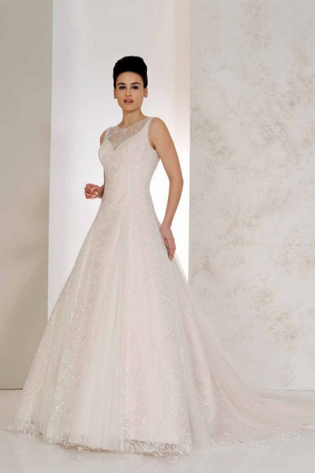 Vienna Wedding Dress - Karen George for Benjamin Roberts 2015 Bridal Collection