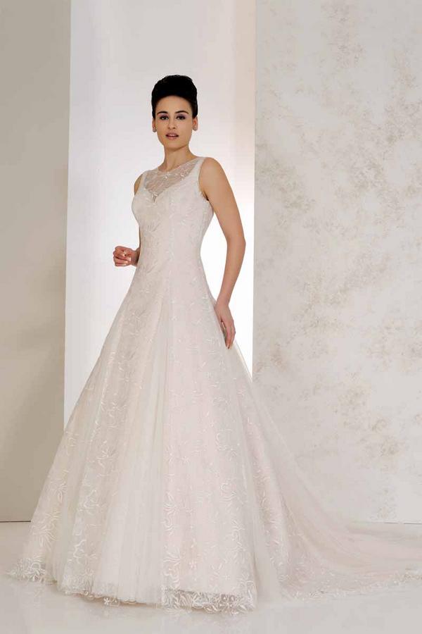 Vienna Wedding Dress - Karen George for Benjamin Roberts 2015 Bridal Collection