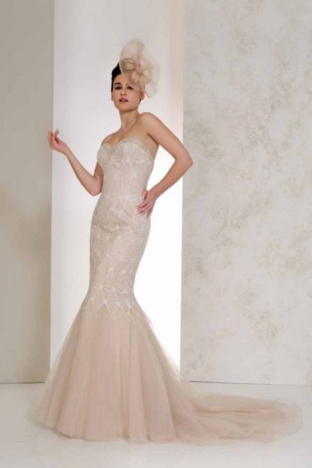 Viola Wedding Dress - Karen George for Benjamin Roberts 2015 Bridal Collection