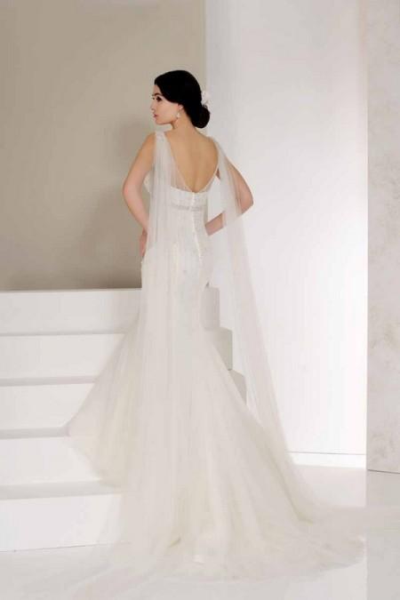 Back of Vivi Wedding Dress - Karen George for Benjamin Roberts 2015 Bridal Collection