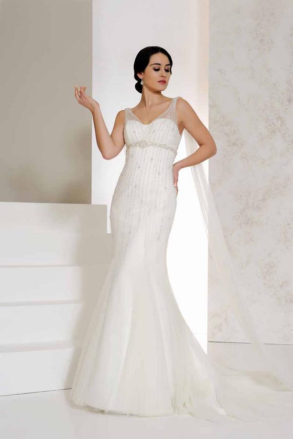 Vivi Wedding Dress - Karen George for Benjamin Roberts 2015 Bridal Collection