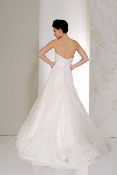 Back of Vixen Wedding Dress - Karen George for Benjamin Roberts 2015 Bridal Collection