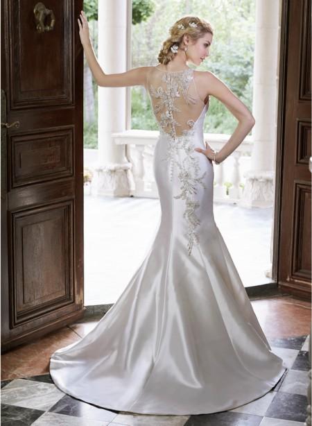 Back of Wanda Wedding Dress - Maggie Sottero Spring 2015 Bridal Collection