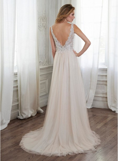 Back of Westlyn Wedding Dress - Maggie Sottero Spring 2015 Bridal Collection
