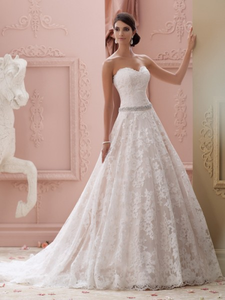 115226 - Suri Wedding Dress - David Tutera for Mon Cheri Spring 2015 Bridal Collection