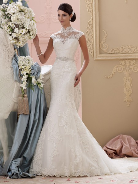 115227 - Everly Wedding Dress - David Tutera for Mon Cheri Spring 2015 Bridal Collection